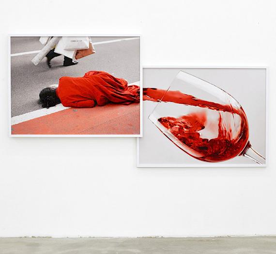 © Victoria Binschtok, red man wine, 2019