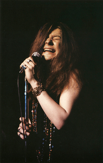 "Janis Joplin im Fillmore East mit ""Ball and Chain"", New York, 1967