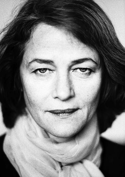 Charlotte Rampling, Berlin, 2000 © Birgit Kleber