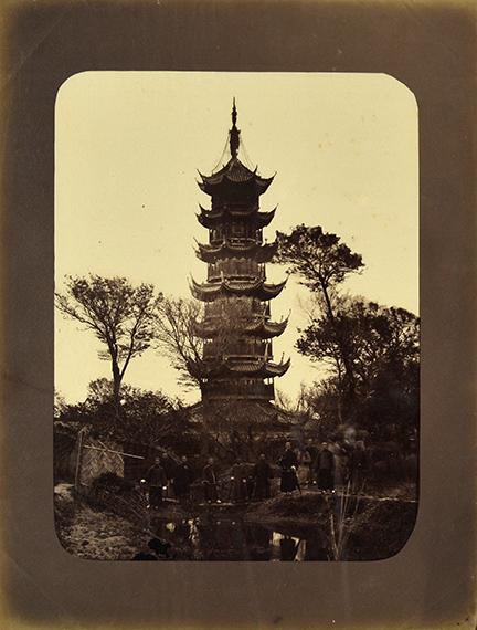167.William Saunders - Thomas Child and othersChina, c. 1870-1880.Shanghai. Canton. Hong Kong. Macau.61 albumen prints.