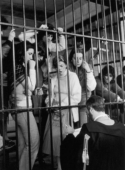 Le ragazze di Prima Linea. Torino, 1981 © Giovanna Borgese
