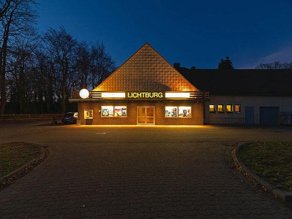 Lichtburg Quernheim, 2019 © Richard Thieler