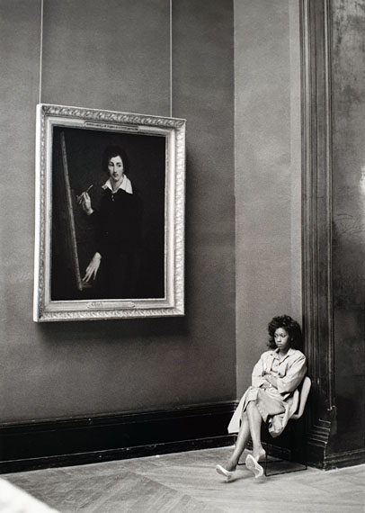 Barbara Klemm: Paris, Louvre, 1987