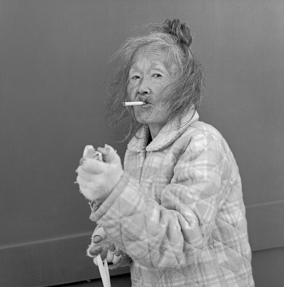 Hiroh Kikai: A lady smoking hi-liteCourtesy: basedonart gallery, Düsseldorf