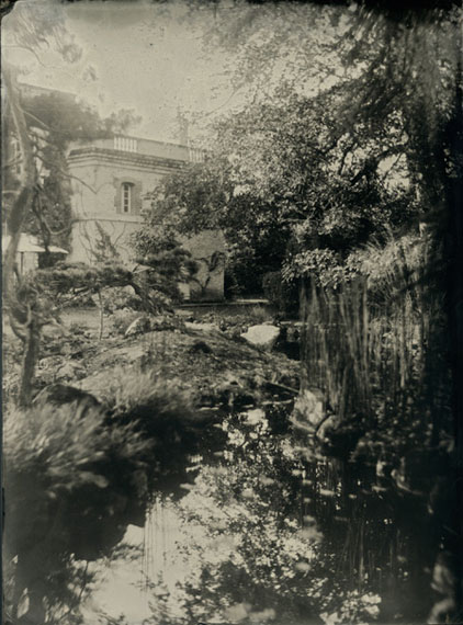 """Villa Charnay and the pond"", LE JARDIN DE NORIKO 2017 © Isa Marcelli"