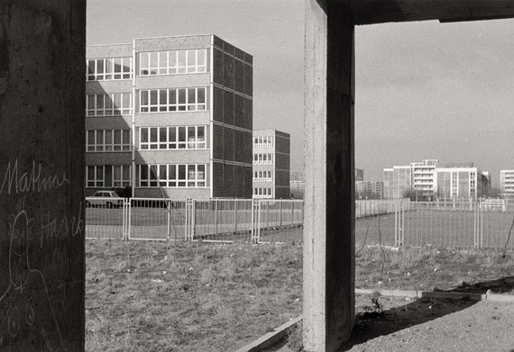 "Lot 4178Ulrich Wüst. From the series ""Stadtbilder"". 1979. Vintage gelatin silver print."