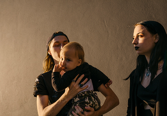 Robin Alysha Clemens - Sylvester (19), Denny (1) & Romy (17) from the series 'Emerging Adulthood' (working title, 2020)