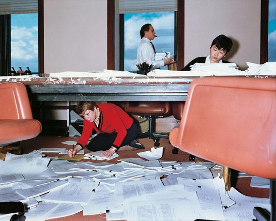 "Lars Tunbjörk: ""Lawyer's Office, New York, 1997"", aus der Serie ""Office / Kontor"" © Lars Tunbjörk"