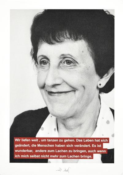 Jochen GerzDie Zeugen von Cahors, 1998 (Detail)