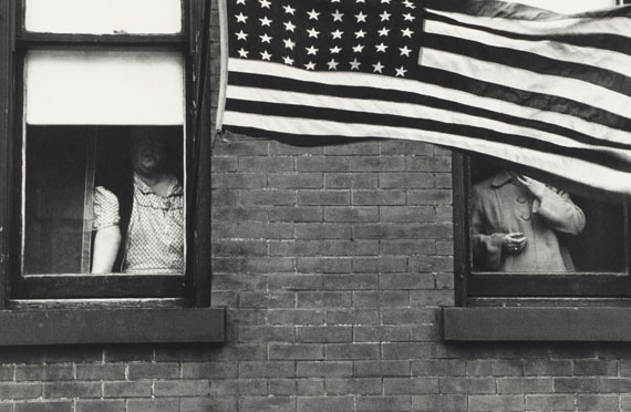 Robert Frank, Parade – Hoboken, New Jersey, 1955 