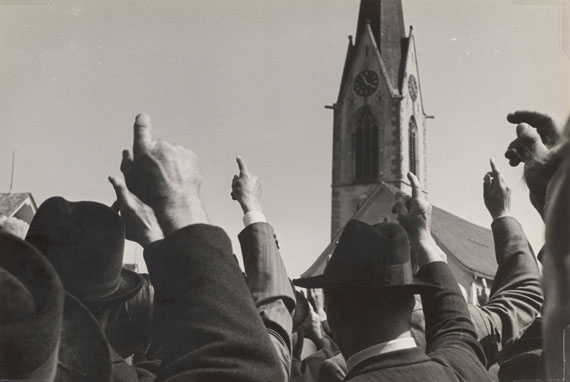 Robert Frank, Landsgemeinde, Hundwil 1949 