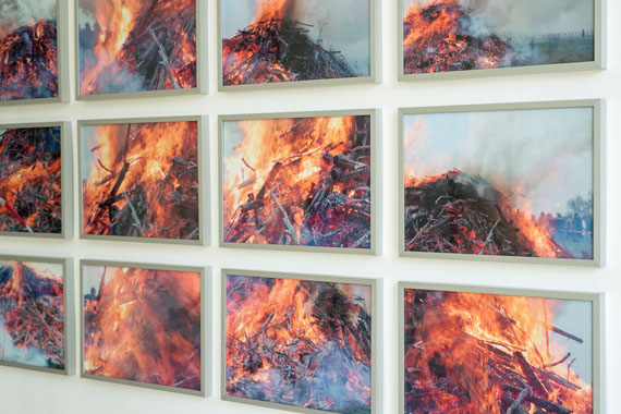 "Joachim Brohm: ""Disjunktes Feuer"", 2002, 15 Ink-Jet Drucke auf Fine-art Papier, je 30 cm x 40"