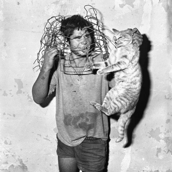 Roger Ballen: Cat Catcher, 1998 © Roger Ballen