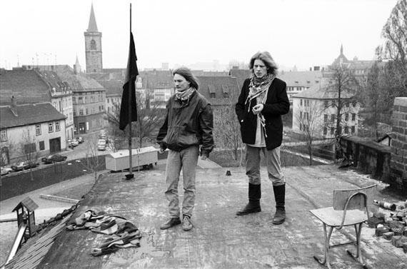 Jürgen Hohmuth: Erfurt, 1990