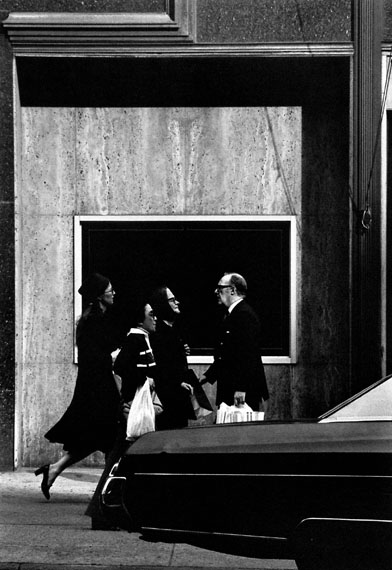 Louis Stettner: On Madison Ave, New York, 1976