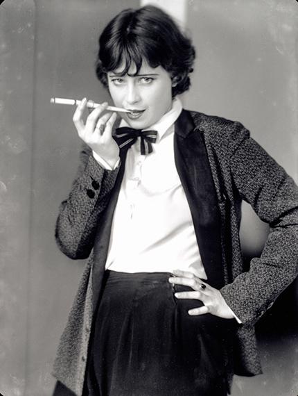 Lotte Jacobi | Die Schauspielerin Valerie Boothby, Berlin um 1930