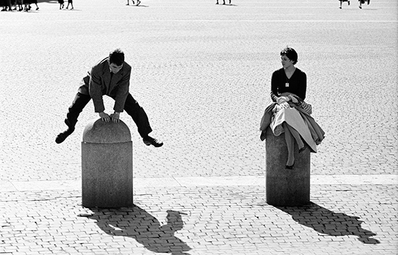 Italy, 1955, Rome, Young couple having fun in front of St. Peter's Dome © Thomas Hoepker