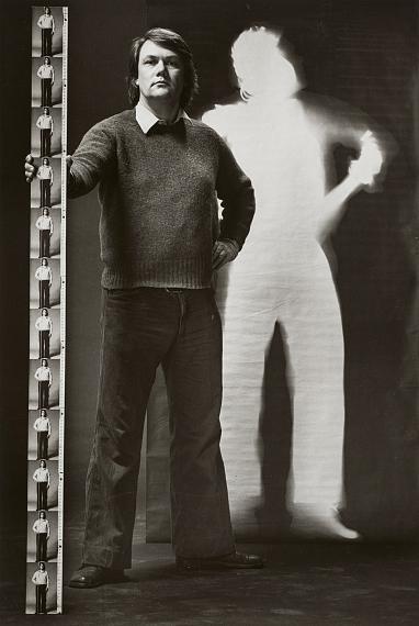 Floris Neusüss: Neusüss verlässt den Schatten, Kassel, 1976© Floris Neusüss