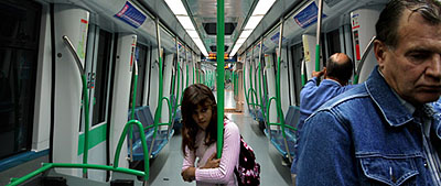 Linea 8, Madrid, 2007, 37 x 90 cm © Pablo Zuleta Zahr