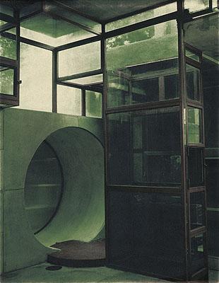 Karl LagerfeldHouse in the Trees, 1998KONKRET ABSTRAKT GESEHEN©Karl Lagerfeld and Langen Foundation 2007