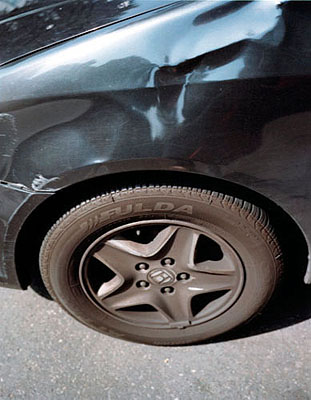 Gosbert Adler, o.T., aus der Serie Autos und Fahrer, 2005