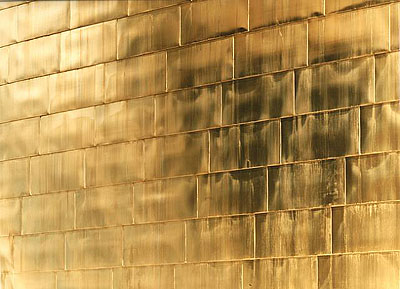 Golden Wall (No. 3)C-print, Diasec (silicon mounted between Plexiglas and Reynobond)203 x 257 cm., Ed. 6158 x 200 cm., Ed. 3