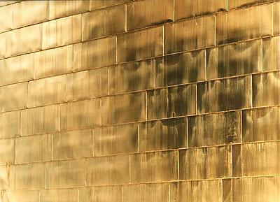 Golden Wall (No. 3)C-print, Diasec (silicon mounted between Plexiglas and Reynobond)203 x 257 cm., Ed. 6158 x 200 cm., Ed. 3