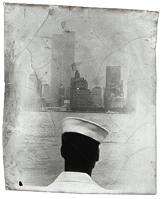 Staten Island Ferry1990Silverprint, mixed media127 x 95 cm