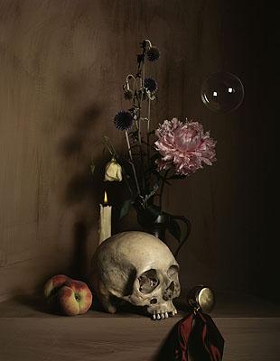 Nature morte à la vanité Copyright, © 2007 by Guido Mocafico