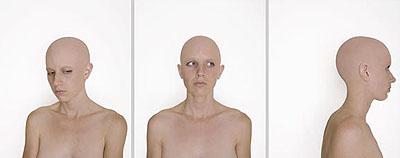 MARGEAUX WALTERSTUDY 2 (ONENESS), 2007lenticular, triptych, ed.524 x 20 in. each p.   61 x 50.8 cm.24 x 60 in. overall   61 x 152.4 cm.Edition of 5