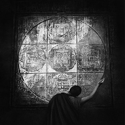 © Caroline Halley The Mandala Tibet, 2002