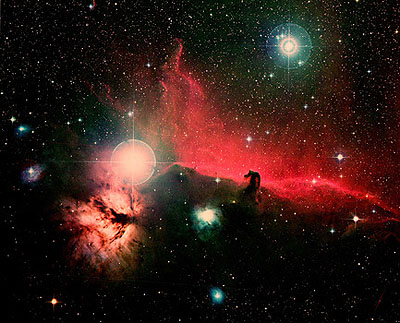 David Malin: Horsehead Nebula in Orion© David Malin, courtesy Galerie Karsten Greve, St. Moritz und Howard Schickler Fine Art, New York