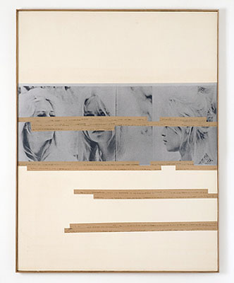 Astrid KleinUntitled (Working title: BB), 1980Collage111,5 x 86,4 cm