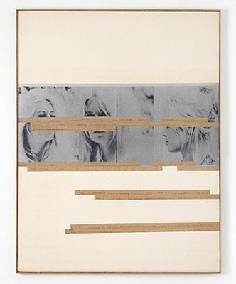 Astrid KleinUntitled (Working title: BB), 1980Collage111,5 x 86,4 cm