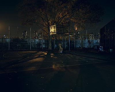Nocturnal # 11 48x 60 inch edition of 620x25 inch edition of 9 Cromogenic prints on Kodak Ultra Endura paper