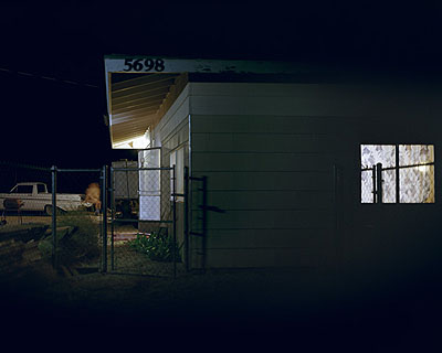 Nocturnal # 2 48x 60 inch edition of 620x25 inch edition of 9 Cromogenic prints on Kodak Ultra Endura paper