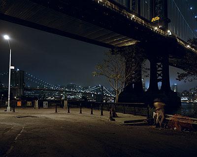 Nocturnal # 9 48x 60 inch edition of 620x25 inch edition of 9 Cromogenic prints on Kodak Ultra Endura paper