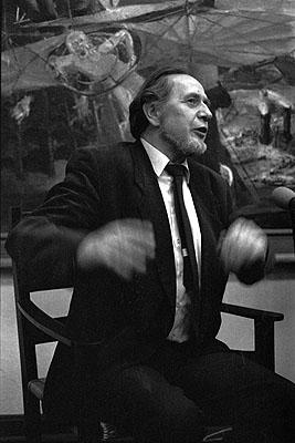 Helfried StraußBernhard Heisig, Eröffnung seiner Retrospektive im Museum der bildenden Künste Leipzig, 15. Februar 1985