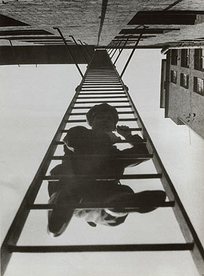 Fire Escape (with a man).From the series