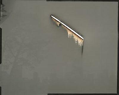 Sunburned GSP #196, San Francisco, 2008, Unique gelatin silver paper negative (1/1), 16 x 20, $3,400
