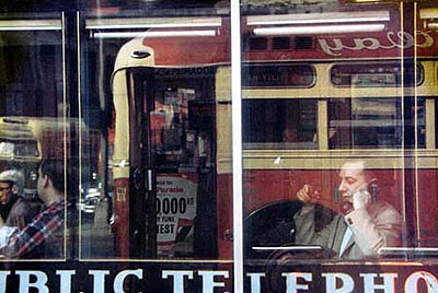 Phone Call, 1957; Chromogenic Print, Printed at a later date. 35 x 28 cm