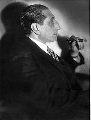 Riess, Alfred Flechtheim, 1927, © ullstein bild