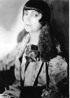 Riess, Asta Nielsen, 1925, © ullstein bild