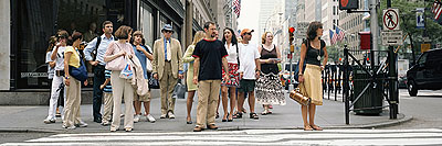 50st Street & 5th Avenue # 2, NYC 2005Archival pigment print3m x 1,10mEdition of 5