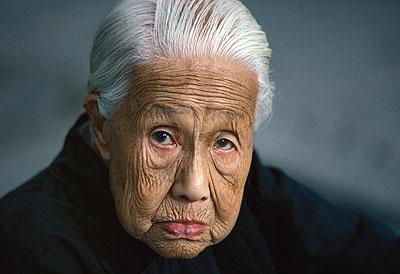 Alte Frau in der Verbotenen Stadt, Beijing, 1984 © Thomas Hoepker/ Magnum Photos