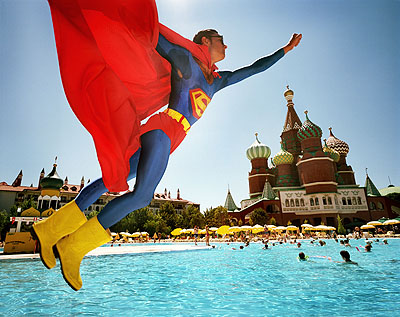 © Reiner Riedler, Superman over Red Place, World of Wonder, Turkey, 2007