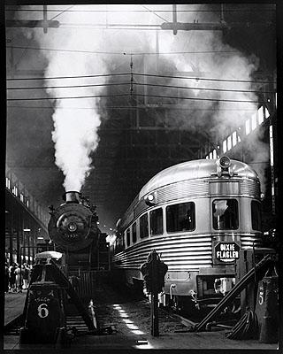 Dearborn Station, Chicago, 1941 Photo by Andreas Feininger © AndreasFeiningerArchive.com