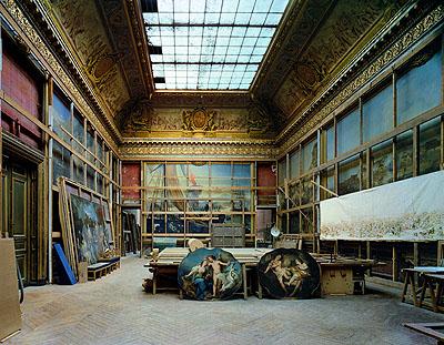 © Robert PolidoriThe Smalah Room, Chateau de Versailles, 1985