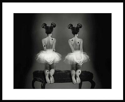 08/B20 (untitled), 2008, 119 x 142 x 5 cm, computer-collage © Galerie Binz & Krämer