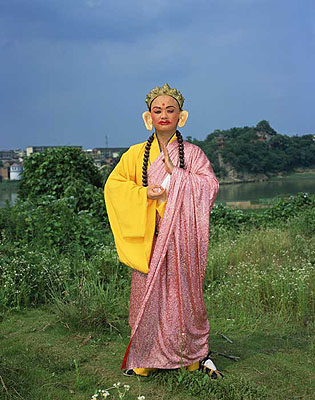 ZENG Han: Mulian Opera #2 (2007). Archival Pigment Print. (190cm x 150cm, Edition of 5; 140cm x 110cm, Edition of 10; 50cm x 40cm, Edition of 20)© ZENG Han and YANG Changhong. Courtesy of m97 Gallery.